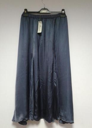 🍒нарядная юбка из натуральной ткани большого размера 26 - 28🍒