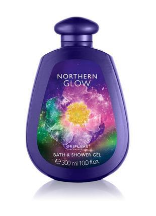 Пена для ванны и гель для душа 2-в-1 northern glow 300мл