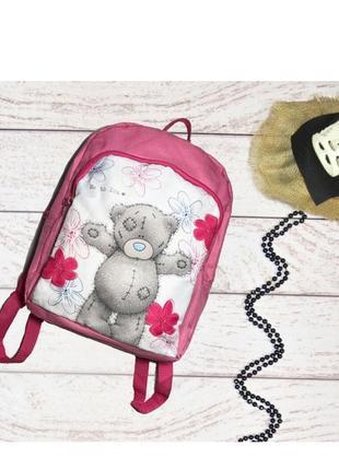 Рюкзак для девочки мишка teddi