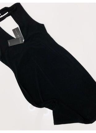 Платье черное new look