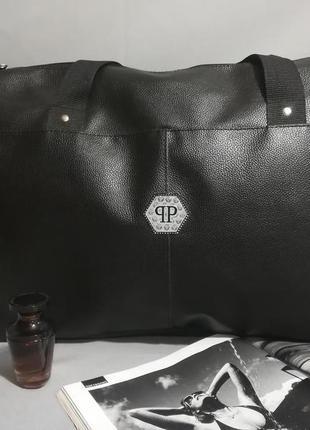 Спортивная сумка из эко-кожи v12