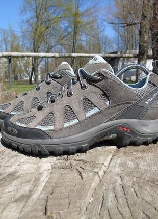 Ботинки salomon кроссовки трекинговые