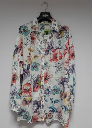 🍒невесомая блуза свободного кроя из 100% вискозы🍒