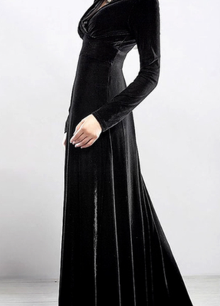 Платье длинное 12-14