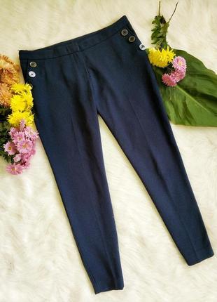 Стильні брюки темно синього кольору redherring