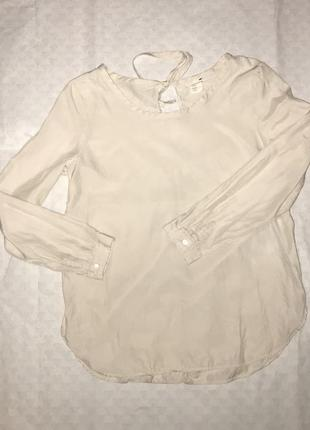 Рубашка молочного цвета
