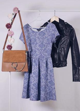 Красиве плаття з вибитим візерунком newlook