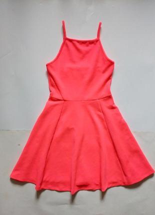 Красивое платье - фактурный трикотаж xs
