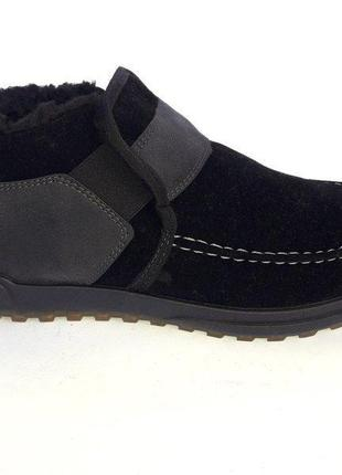 Мужские зимние ботинки на теплом меху. р-ры 44 по стельке 29 см