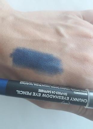 Карандаш для век - тени shany multi-use chunky pencils - sapphire