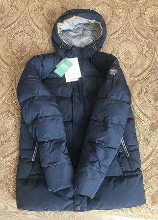 Зимняя курточка {пуховик} icebear мужская р. 46 {м}