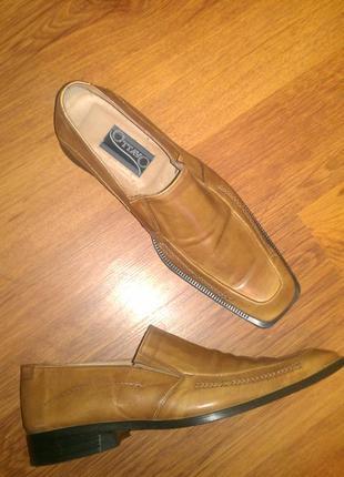 Кожаные мужские туфли ottavo 43 р
