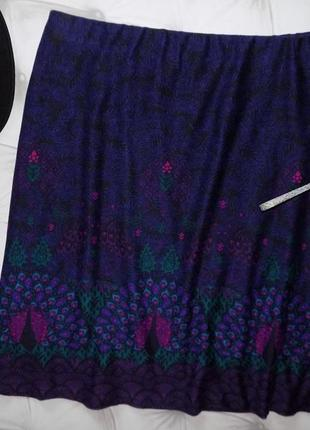 20 р-ра тёплая юбка на резинке4