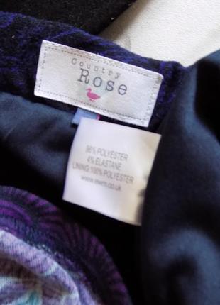 20 р-ра тёплая юбка на резинке5