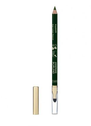 Темно-зеленый карандаш для глаз)