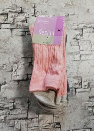 Очень красивый набор,комплект, носков,39-42 c&a