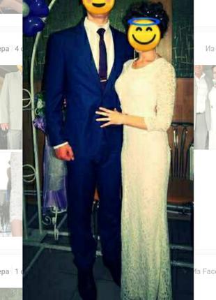 Платье свадебное/ вечернее от  sensiline. торг