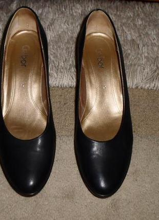 Шик от gabor.элегантные комфор.бренд.туфли,полн.кожа,португалия