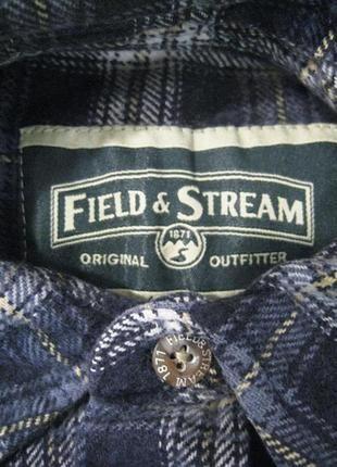 Очень теплая охотничья рубашка от американского бренда field & stream (оригинал)