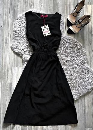 Красивое платье миди шифон