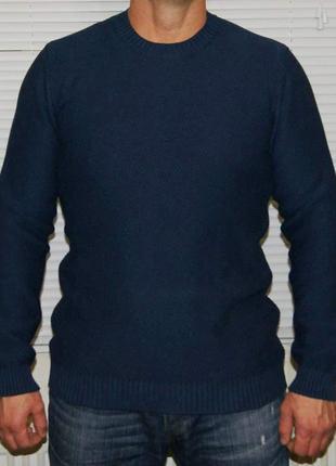 Джемпер темно- синий 100% хлопок