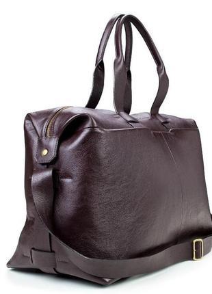 Эксклюзивная стильная модная кожаная дорожная спортивная сумка премиум качество handmade