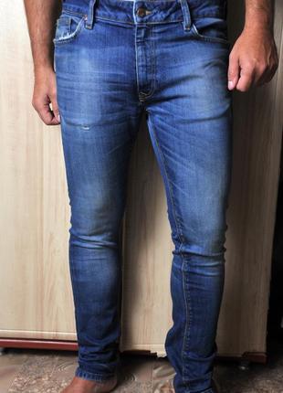 2ddda496bf8 Брендовые плотные стрейтчевые джинсы скинни р.28 - 30 River Island ...