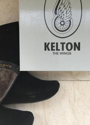 Супер сапоги мех танкетка kelton