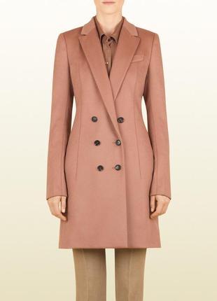 Gucci оригинал италия классическое дизайнерское шерстяное пальто