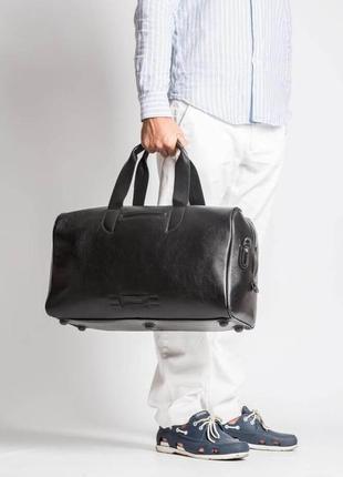 Эксклюзивная стильная кожаная дорожная сумка для спортзала премиум качество ручная работа