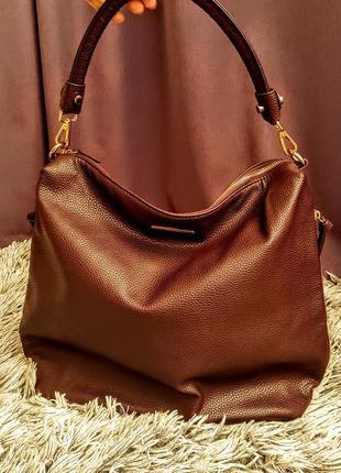 Шикарная сумка цвета марсала mohito