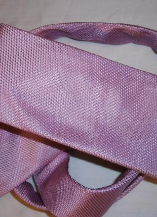 Модный узкий галстук шелк