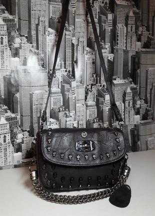Шикарная сумка кроссбоди * thomas wylde * / 100% натуральная кожа