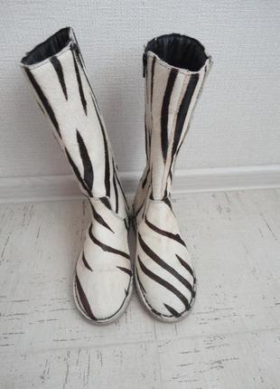 Женские сапоги, размер 38. мех стелька-24.5 см