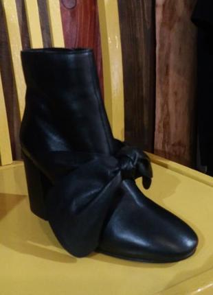 Новые осенние ботинки из 100% кожи