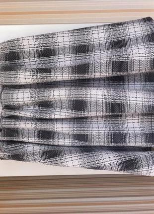 Стильная юбочка с высокой талией