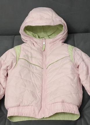 Куртка columbia 4 t для девочки
