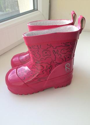 Сапоги ботинки резиновые reima
