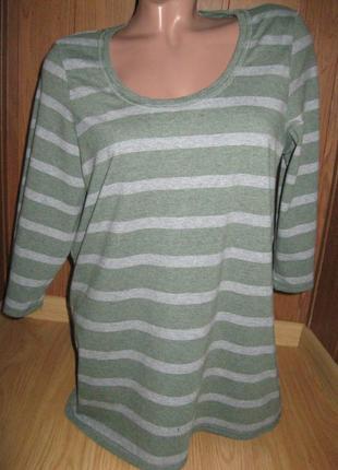 Трикотажная блузка -размер 50-52