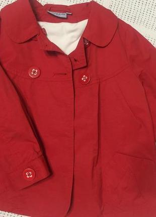 Плащик- куртка для модницы  р. 92