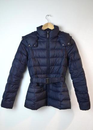 Benetton куртка курточка пуховик пух перо
