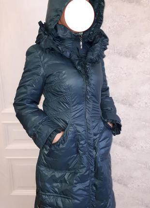 Женское зимнее пальто пуховик basic