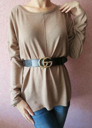 Кофта свитер джемпер базовый