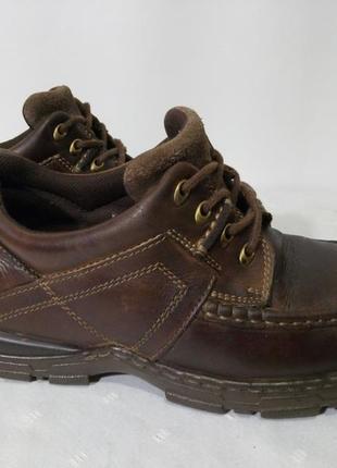 Кожаные ботинки,туфли hush puppies, 42р,стелька27см, отличное состояние