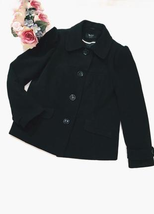 Шикарное пальто(полупальто) 14 размер идеал!