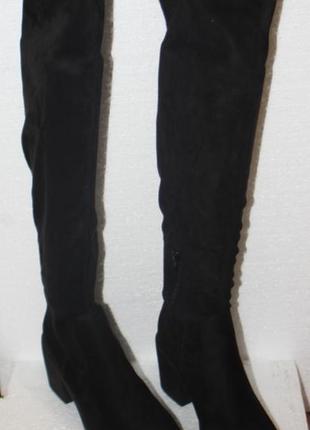Ботфорты even & odd текстиль германия 40р сапоги женские