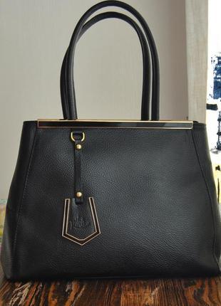Кожаня сумка vera pelle италия / шкіряна сумка
