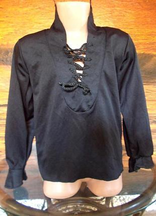 Рубашка для бальных танцев или костюма зорро