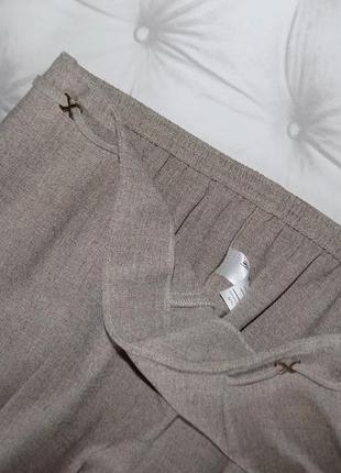 Конец лета, тёплая осень, брюки на резинке4 фото