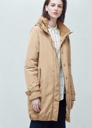 Длинная куртка mango пуховик одеяло парка зимняя куртка длинный пуховик зима -20 градусов